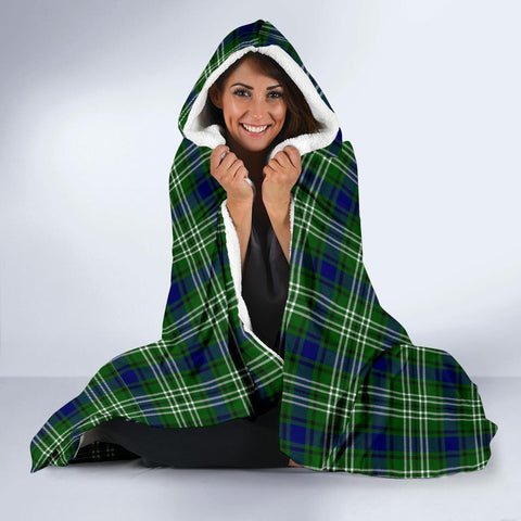 Blackadder Clans Tartan Hooded Blanket - BN