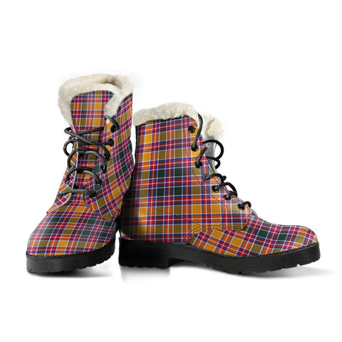 Jacobite Tartan Boots For Women