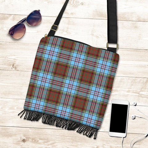 Image of Anderson Ancient Tartan Boho Handbag K7