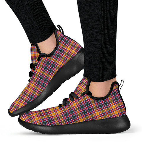 Tartan Mesh Knit Sneakers - Jacobite