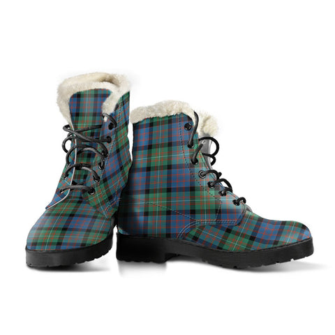 Image of Macdonnell Of Glengarry Ancient Tartan Boots For Women