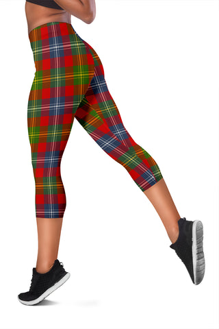 Image of Forrester Tartan Capris Leggings