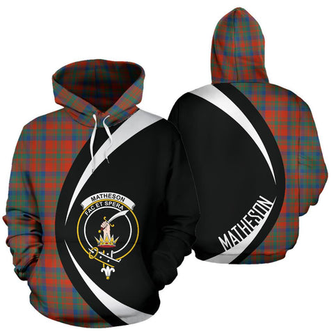 Matheson Ancient Tartan Circle Hoodie HJ4