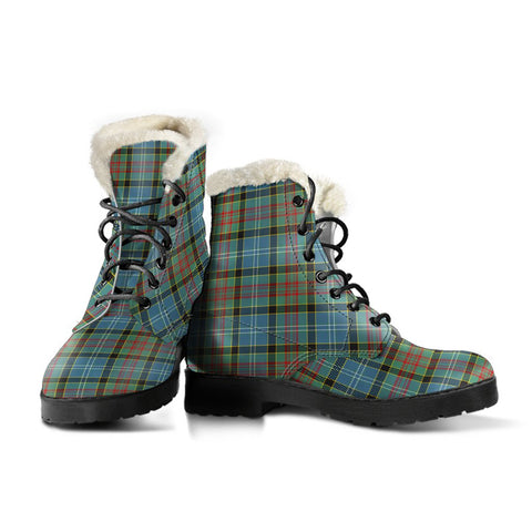 Paisley District Tartan Boots For Women