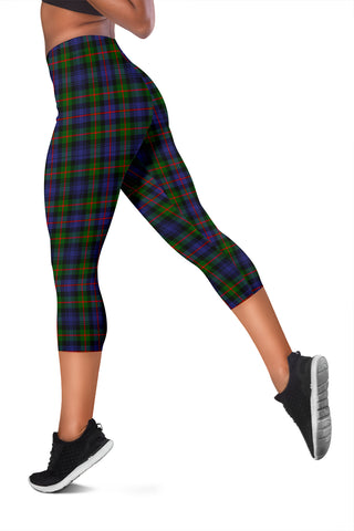 Murray Of Atholl Modern Tartan Capris Leggings