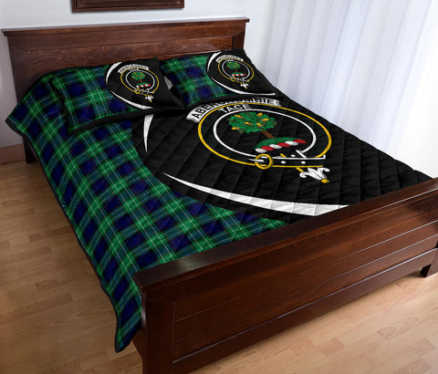 Image of Abercrombie Tartan Quilt Bed Set Circle