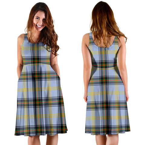 Bell of the Borders Plaid Women's Dress