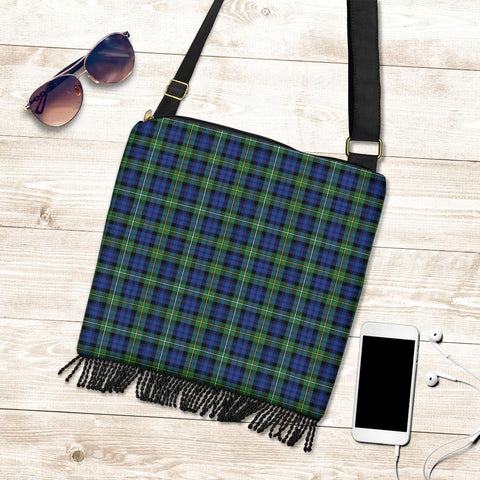 Image of Campbell Argyll Ancient Tartan Boho Handbag K7