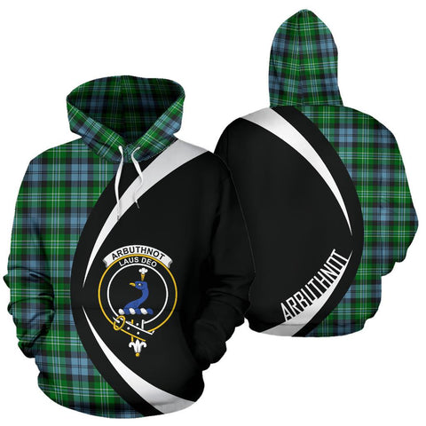 Image of Arbuthnot Ancient Tartan Circle Hoodie HJ4