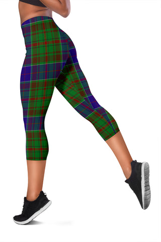 Image of Adam Tartan Capris Leggings