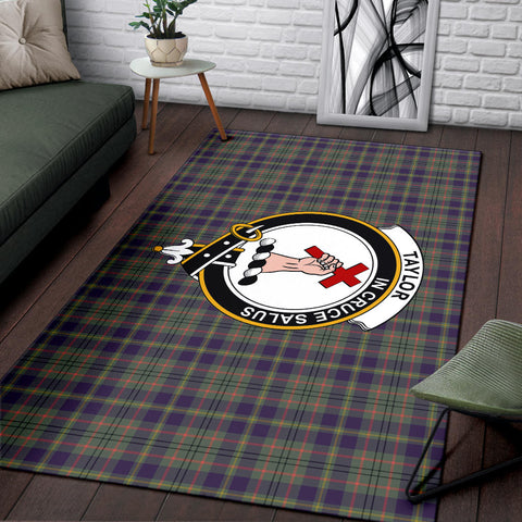 Taylor Clan Tartan Area Rug, Scottish Clans Tartan Area Rug, Scottish Rug, Scotland Area Rug