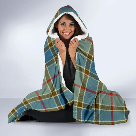 Image of Balfour Clans Tartan Hooded Blanket - BN