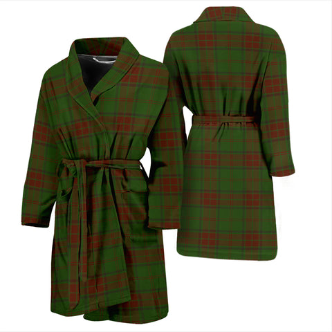 Maxwell Hunting Tartan Mens Bathrobe - BN