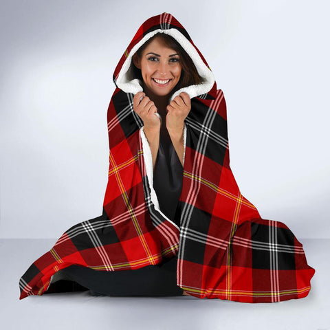 Marjoribanks Clans Tartan Hooded Blanket - BN