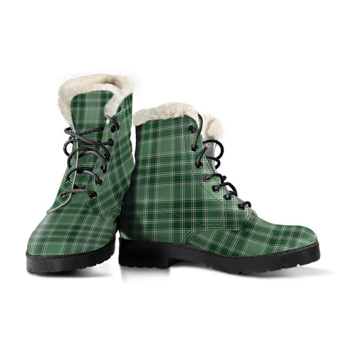 Macdonald Lord Of The Isles Hunting Tartan Boots For Women
