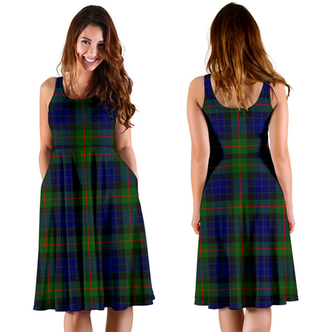 Image of Gunn Modern Plaid Women's Dress