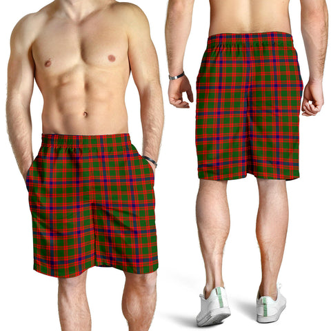 Skene Modern Tartan Shorts For Men K7