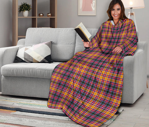 Image of Jacobite Tartan Clans Sleeve Blanket K6