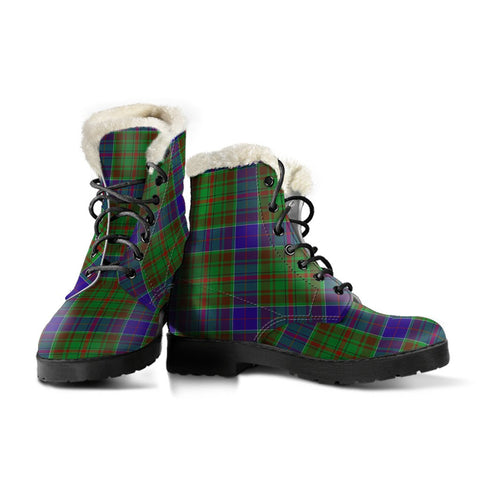 Adam Tartan Boots For Women