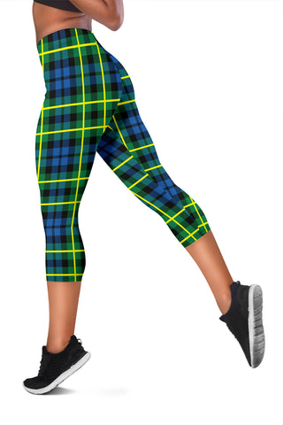 Campbell Of Breadalbane Ancient Tartan Capris Leggings