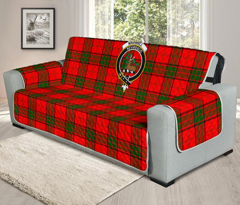Image of Maxwell Modern Tartan Clan Badge Oversized Sofa Protector K7