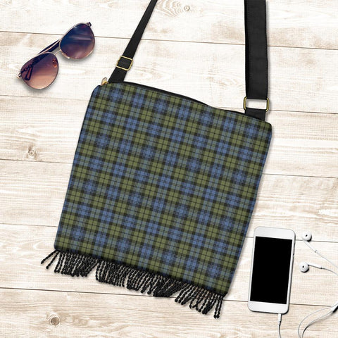 Campbell Faded Tartan Boho Handbag K7