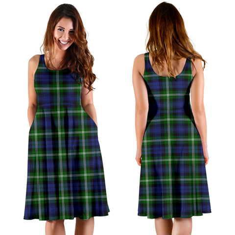 Baillie Modern Plaid Women's Dress