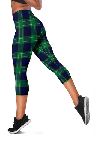 Image of Abercrombie Tartan Capris Leggings