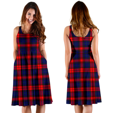 MacLachlan Modern Plaid Women's Dress