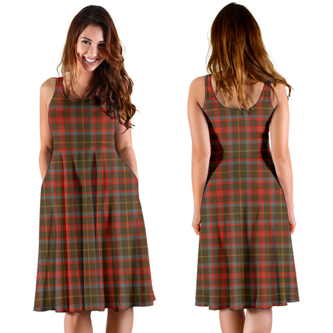 MacKintosh Hunting Weathered Plaid Women's Dress