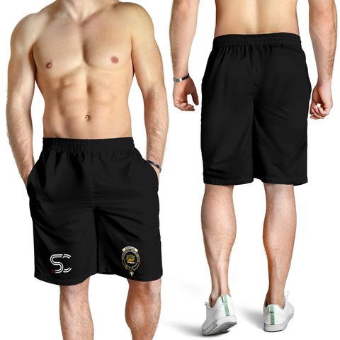 Image of Douglas Grey Modern Clan Badge Men's Shorts TH8