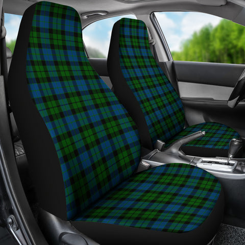 Mackay Modern Tartan Car Seat Covers K7