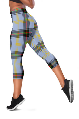 Bell Of The Borders Tartan Capris Leggings