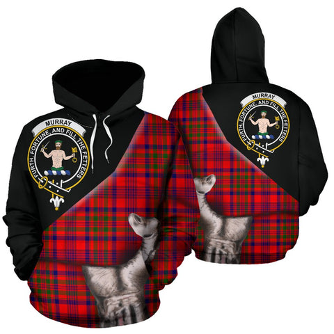 Murray of Tulloch Modern Tartan Hoodie Patronage
