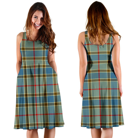 Balfour Blue Plaid Women's Dress