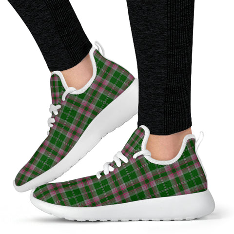 Image of Tartan Mesh Knit Sneakers - Gray Hunting - BN