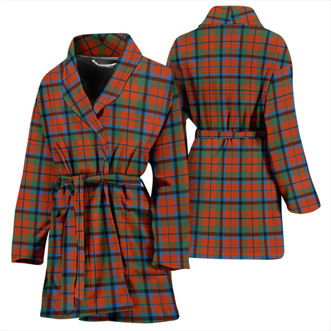 MacNaughton Ancient Tartan Womens Bathrobe - BN