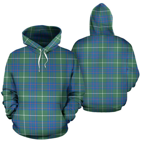 Macintyre Hunting Ancient Tartan Hoodie, Scottish Macintyre Hunting Ancient Plaid Pullover Hoodie