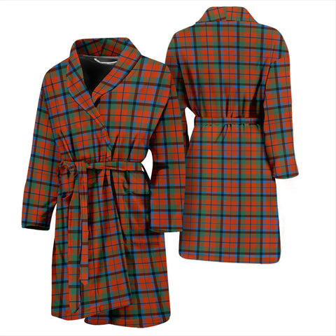MacNaughton Ancient Tartan Mens Bathrobe - BN