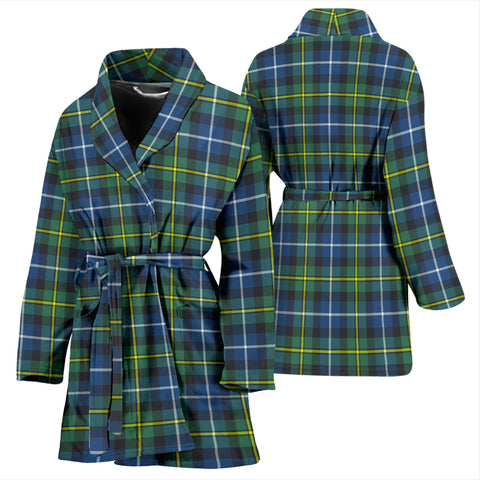 MacNeill Of Barra Ancient Tartan Womens Bathrobe - BN