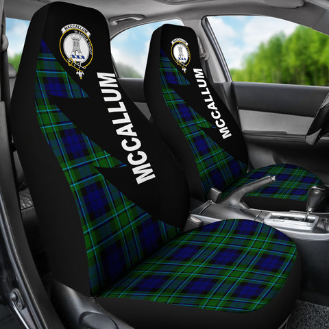 McCallum Clans Tartan Car Seat Covers - Flash Style - BN