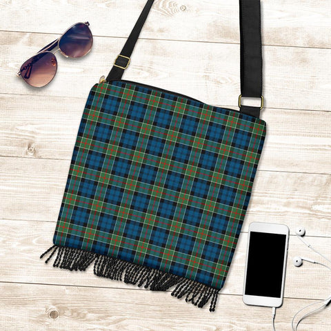 Image of Colquhoun Ancient Tartan Boho Handbag K7