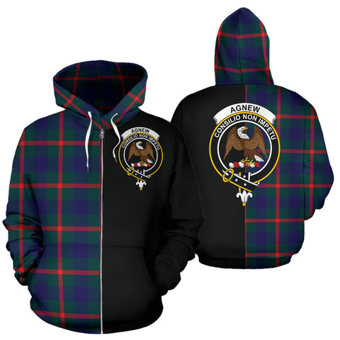 Image of Agnew Modern Tartan Hoodie Half Of Me TH8