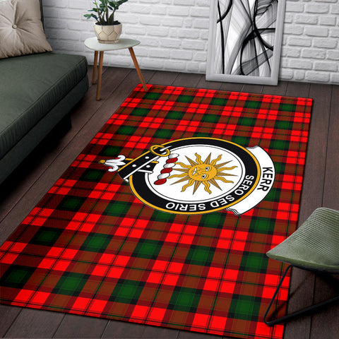 Image of Kerr Clan Tartan Area Rug, Scottish Clans Tartan Area Rug, Scottish Rug, Scotland Area Rug