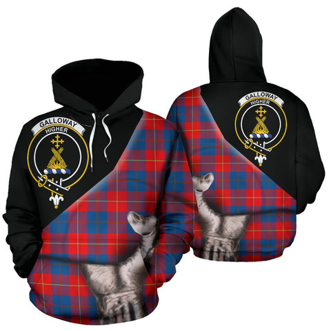 Galloway Red Tartan Hoodie Patronage