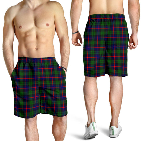 Urquhart Modern Tartan Shorts For Men K7