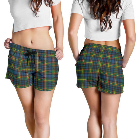 MacLellan Ancient Tartan Shorts For Women K7