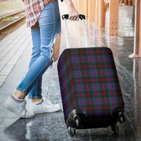Image of Nairn Tartan Luggage Cover HJ4