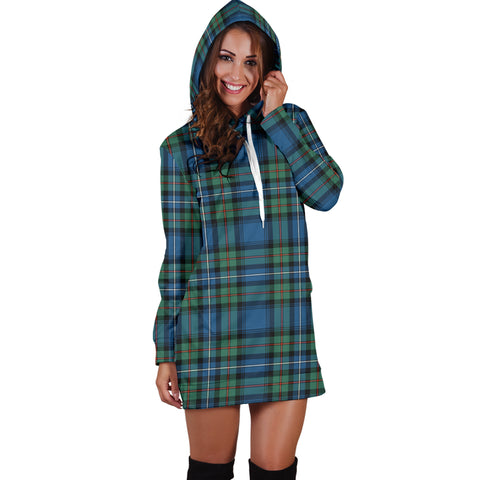 Robertson Hunting Ancient Tartan Hoodie Dress HJ4