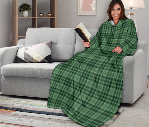 Image of MacDonald Lord of the Isles Hunting Tartan Clans Sleeve Blanket K6